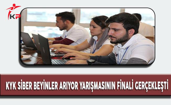 KYK Tarafından Düzenlenen 'KYK Siber Beyin Arıyor' Yarışmasının Finali Gerçekleşti