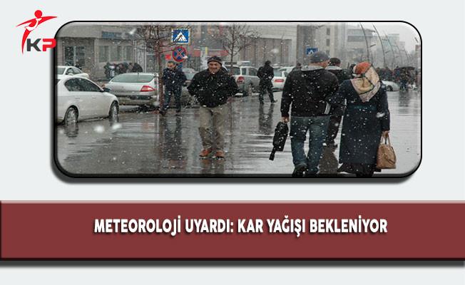 Meteoroloji Uyarıyor! Yurdun Yarısı Kar Altında Kalacak