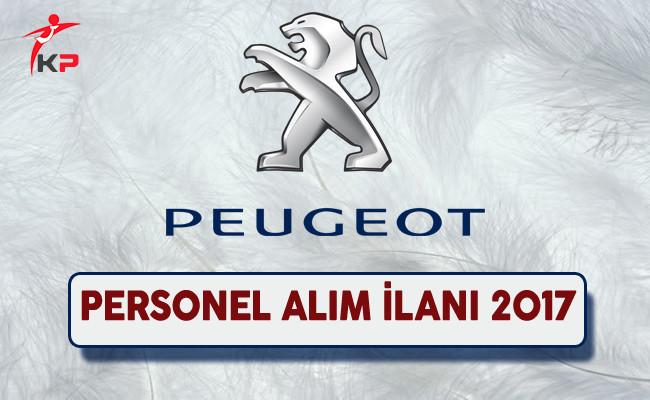 Peugeot Personel Alım İlanı 2017
