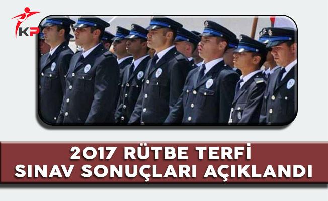 Polis Akademisi 2017 Rütbe Terfi Yazılı Sınav Sonuçları Açıklandı