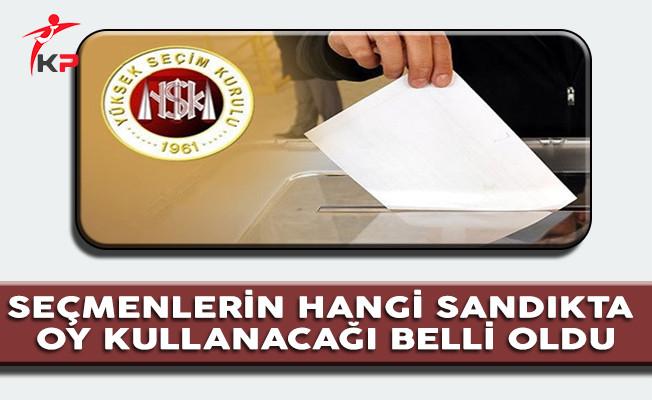 Seçmenlerin Oy Kullanacağı Sandıklar YSK Tarafından İlan Edildi