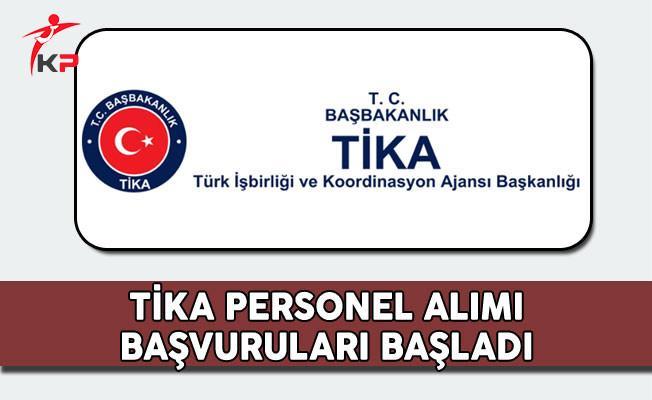 Türk İşbirliği ve Koordinasyon Ajansı (TİKA) Personel Alımı Başvuruları Başladı