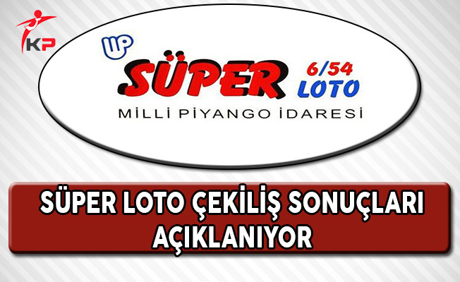 13 Nisan 2017 Süper Loto Çekildi !
