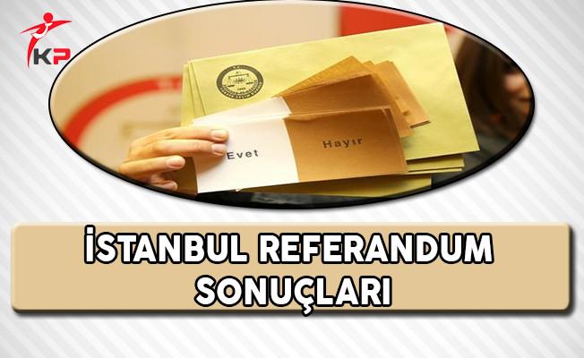 Flaş !!! İstanbul'da Hayır Oyları Öne Geçti !