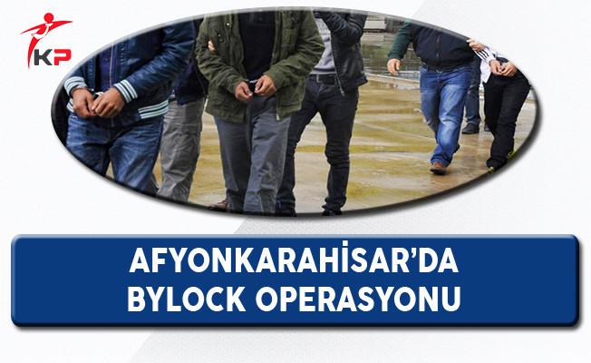 Afyon'da ByLock Operasyonu Gözaltına Alınanlar Var