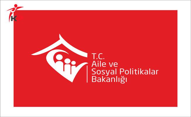Aile ve Sosyal Politikalar Bakanlığı Ankara İl Müdürlüğü 58 ASDEP Alım İlanı