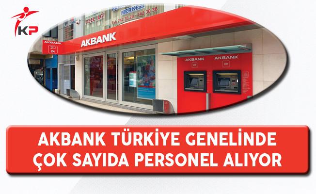 Akbank En Az Ön Lisans Mezunu Personel Alım İlanı