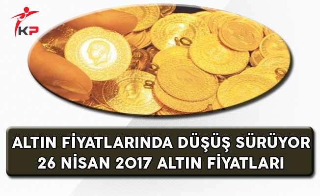 Altın Fiyatlarında Düşüş Sürüyor (26 Nisan Altın Fiyatları)