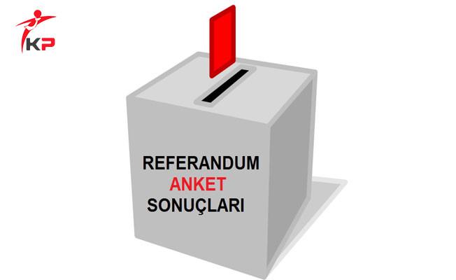 ANAR'ın Referandum Anketinin Sonuçları Açıklandı!