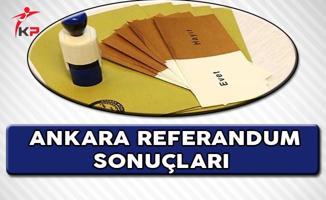 İstanbul'un Ardından Ankara'da da Hayır Oyları Öne Geçti !