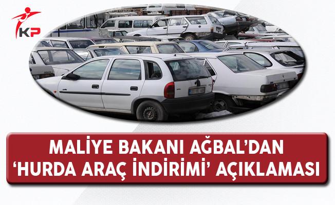 Bakan Ağbal'dan 'Hurda Araç İndirimi' Söylentilerine İlişkin Açıklama