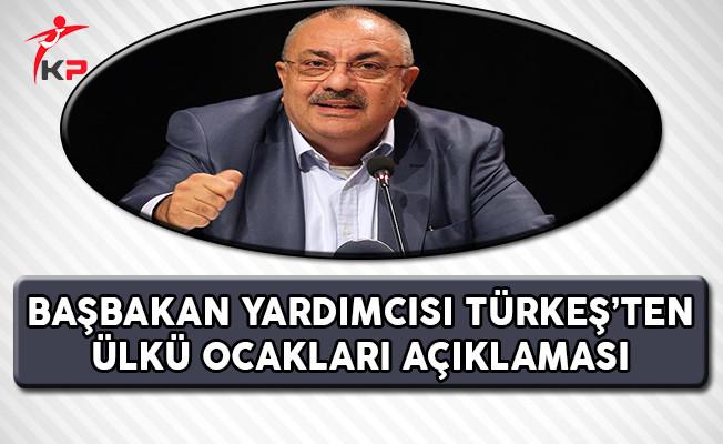 Başbakan Yardımcısı Türkeş'ten Ülkü Ocakları Açıklaması !