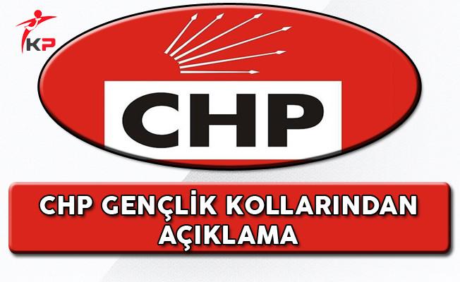 CHP Gençlik Kollarından Açıklama!