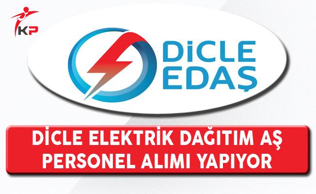 Dicle Elektrik Dağıtım AŞ Personel Alım İlanı