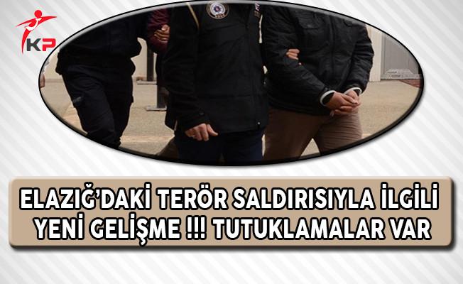 Elazığ'daki Terör Saldırısıyla İlgili Yeni Gelişme ! Tutuklamalar Var
