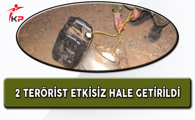 Hakkari'de 2 PKK'lı Terörist Etkisiz Hale Getirildi!