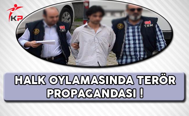 Halk Oylamasında Flaş Terör Propagandası !