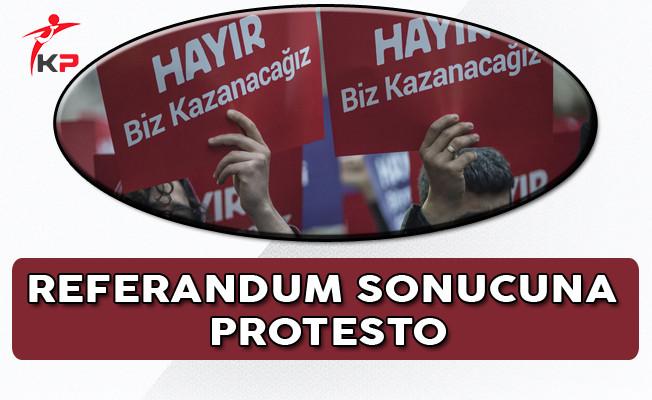 Beşiktaş ve Kadıköy'de Referandum Protestosu