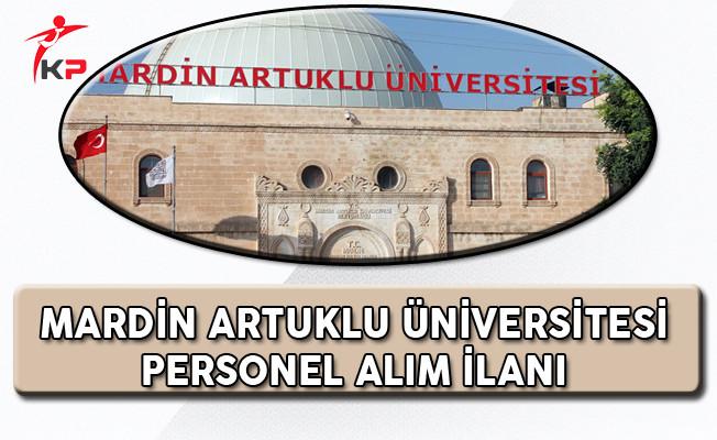 Mardin Üniversitesi Sözleşmeli Personel Alım İlanı