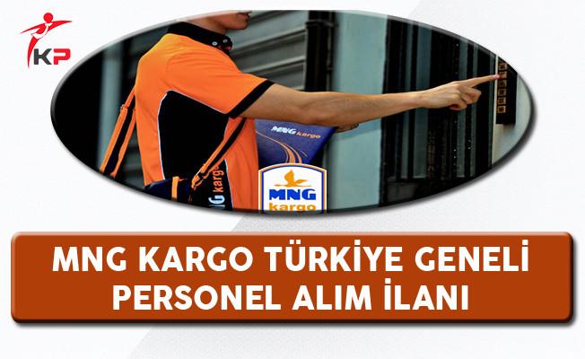 MNG Kargo Türkiye Geneli Personel Alım İlanı