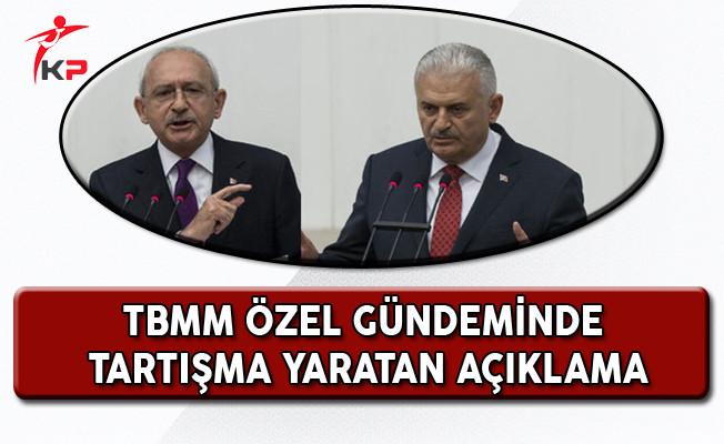 Özel Gündem İle Toplanan TBMM'de Kılıçdaroğlu'nun Konuşması Tartışma Yarattı