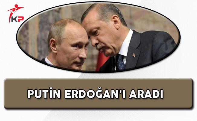 Rusya Devlet Başkanı Putin'den Cumhurbaşkanı Erdoğan'a Tebrik