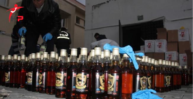 İstanbul'da Sahte İçki Operasyonu: 4 Gözaltı