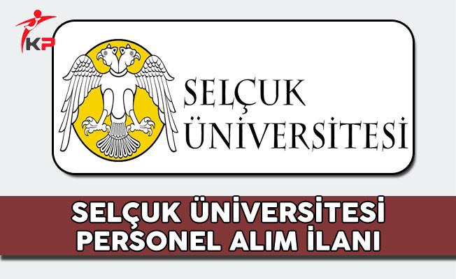 Selçuk Üniversitesi Öğretim Üyesi Alım İlanı