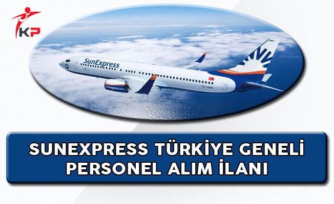 SunExpress Türkiye Genelinde Personel Alımı Yapıyor