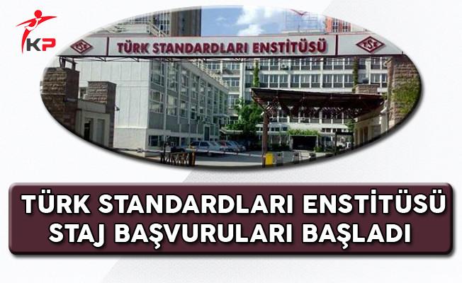 Türk Standardları Enstitüsü (TSE) 2017-2018 Staj Başvuruları Başladı