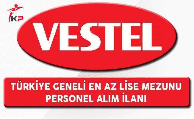 Vestel En Az Lise Mezunu Personel Alım İlanı