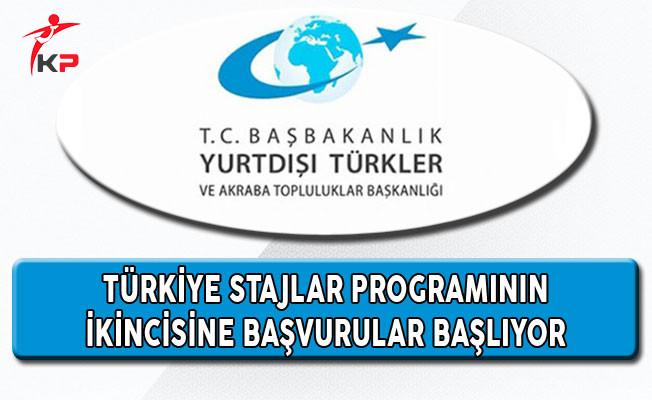 YTB Türkiye Stajlar Programının İkincisine Başvurular Başlıyor