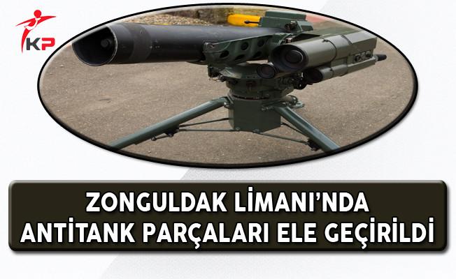 Zonguldak Limanı'nda Antitank Füze Parçaları Ele Geçirildi!