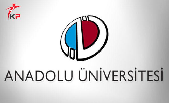 Anadolu Üniversitesi İkinci Üniversite Ön Başvuruları Başladı