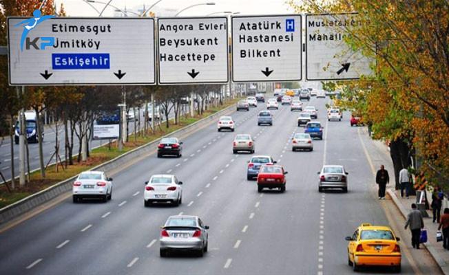 Ankara'da Bazı Yolların Trafiğe Kapatılacağı Açıklandı!