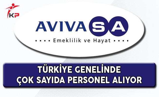 AvivaSA Türkiye Geneli Personel Alım İlanı