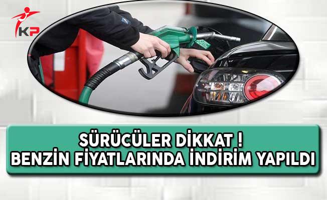 Sürücüler Dikkat ! Benzin Fiyatlarında İndirim Yapıldı