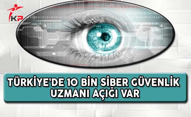 Türkiye'de 10 Bin Siber Güvenlik Uzmanı Açığı Var !