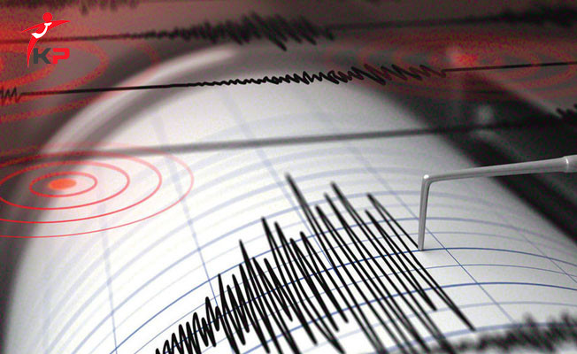 Ege Denizi'nde Korkutan Deprem !