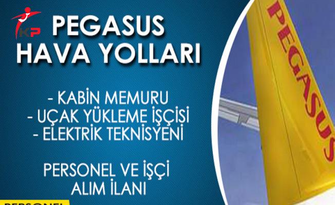 Pegasus Hava Yolları İşçi ve Personel Alımı İçin Başvuru Süreci Devam Ediyor