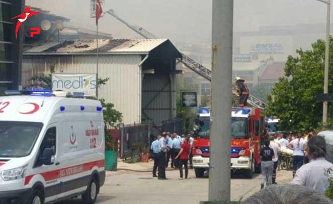Son Dakika: Ankara'da İvedik Sanayi Bölgesinde Patlama ! Ölü ve Yaralılar Var