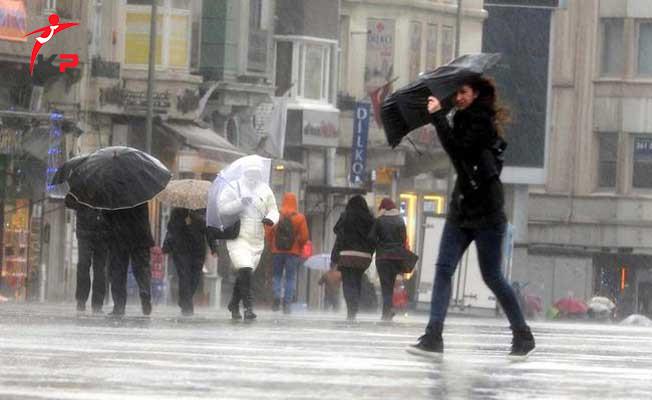 Meteoroloji İstanbul'da Sağanak Yağış İçin Saat Verdi