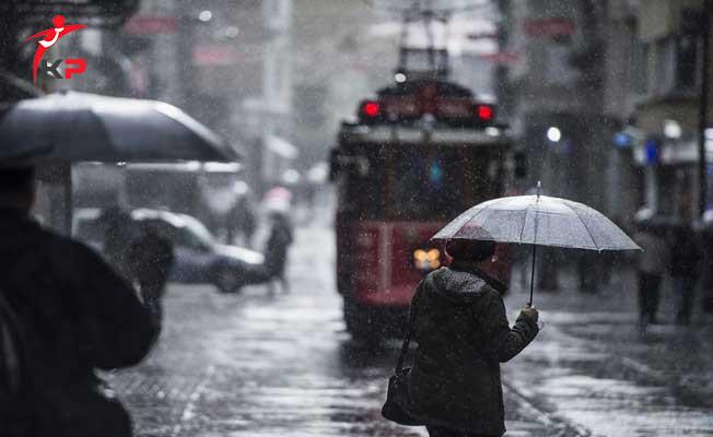 Meteroloji Uyardı: İstanbul'a Sağanak Yağmur Geliyor