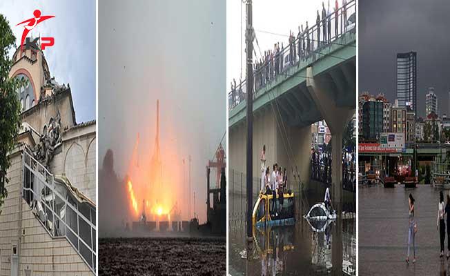 Sağanak, Dolu ve Sel Felaketinde İstanbul'da Yaşananlar !