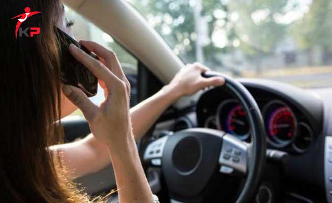Trafikte Cep Telefonu Kullanımına Yeni Uygulama Geliyor