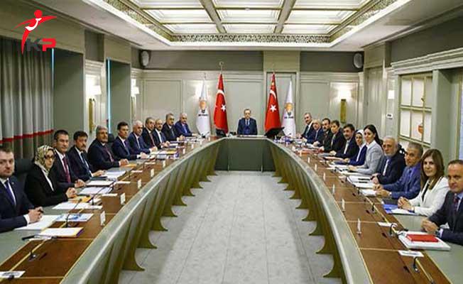 AK Parti MYK Toplantısında Cumhurbaşkanı Erdoğan'dan 4 Önemli Talimat