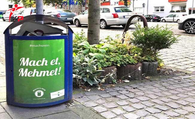 Almanya'da Skandal ! Çöp Kutularının Üzerine Türk İsimleri Yazıldı