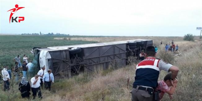 Amasya'da feci otobüs kazası: 5 ölü, 40 yaralı