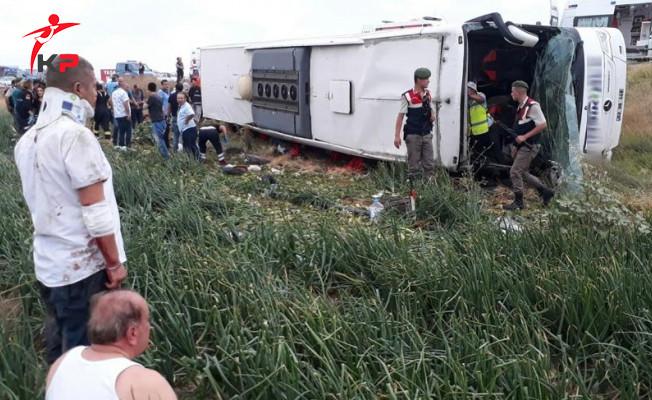 Amasya'da Otobüs Kazasında Ölen Yolcuların İsimleri Belli Oldu