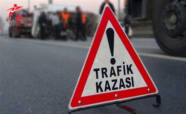 Bursa'da Kamyonet ile Cip Çarpıştı ! 2'si Ağır 6 Yaralı Var